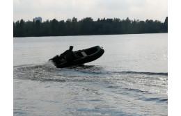 Тест човна Парсун надувне дно
