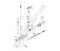 Нижней части корпуса и привода 1